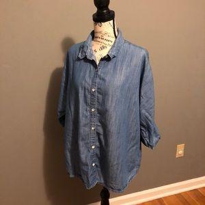EUC- Coldwater Creek Jean Shirt